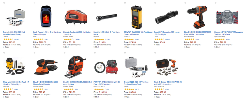 Top-Selling Tools Amazon