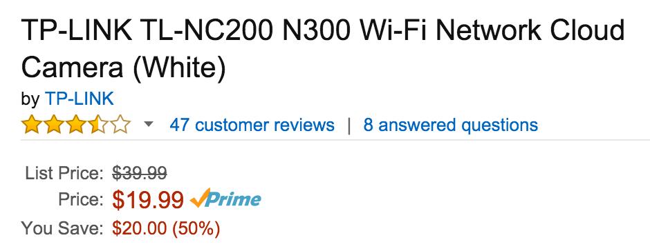 tp-link-tl-nc200-amazon-deal