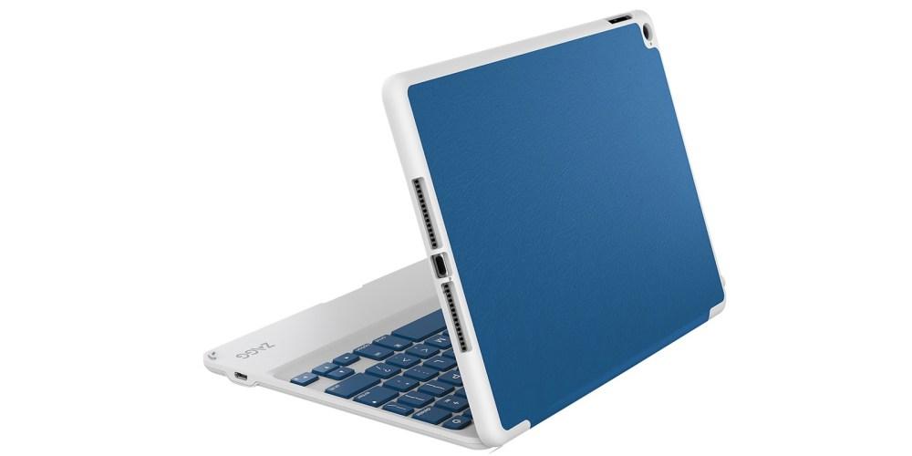 ZAGG - ZAGGfolio Bluetooth Keyboard Case for Apple® iPad® Air 2 - Blue