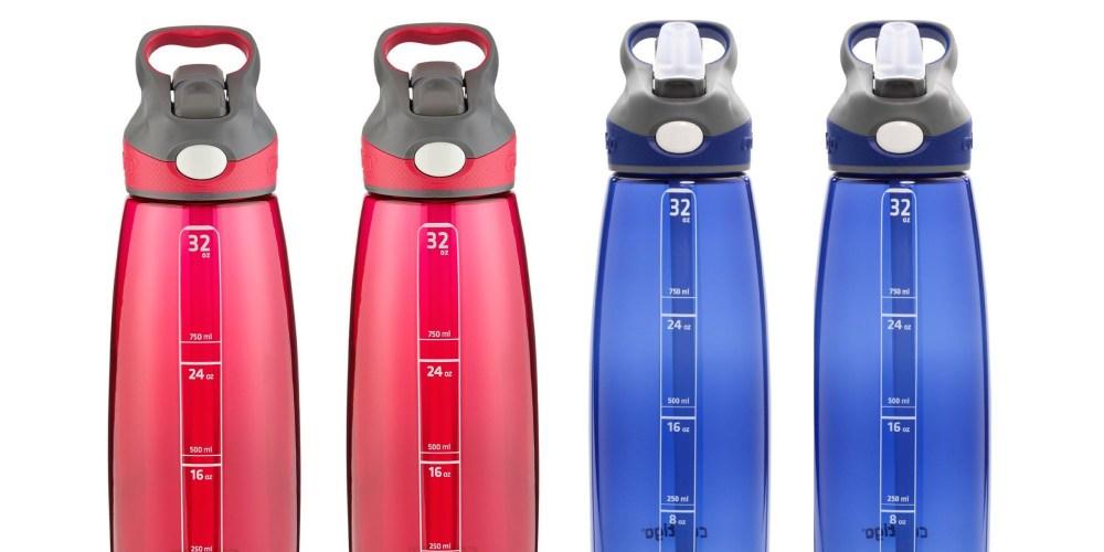 2-pack of 32-Ounce Contigo Auto Spout Addison Water Bottles-5