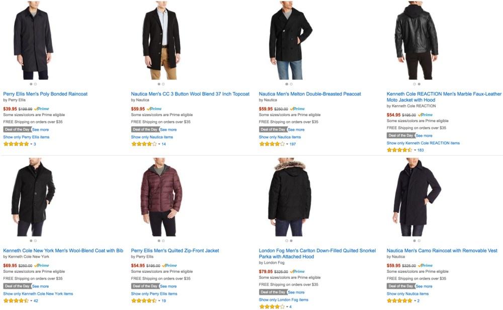 70% Off Coats for Women, Men, Kids, & Baby