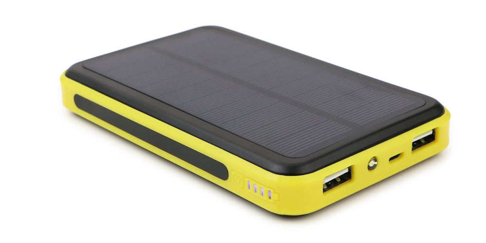 ALLPOWERS 10000mAh Solar Panel Charger with iSolar Technology for iPhone, iPad, Samsung and other 5V USB devices