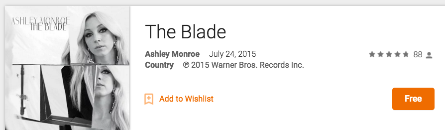 Ashley Monroe The Blade Google