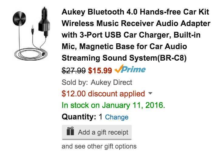 aukey-car-charger-amazon-deal