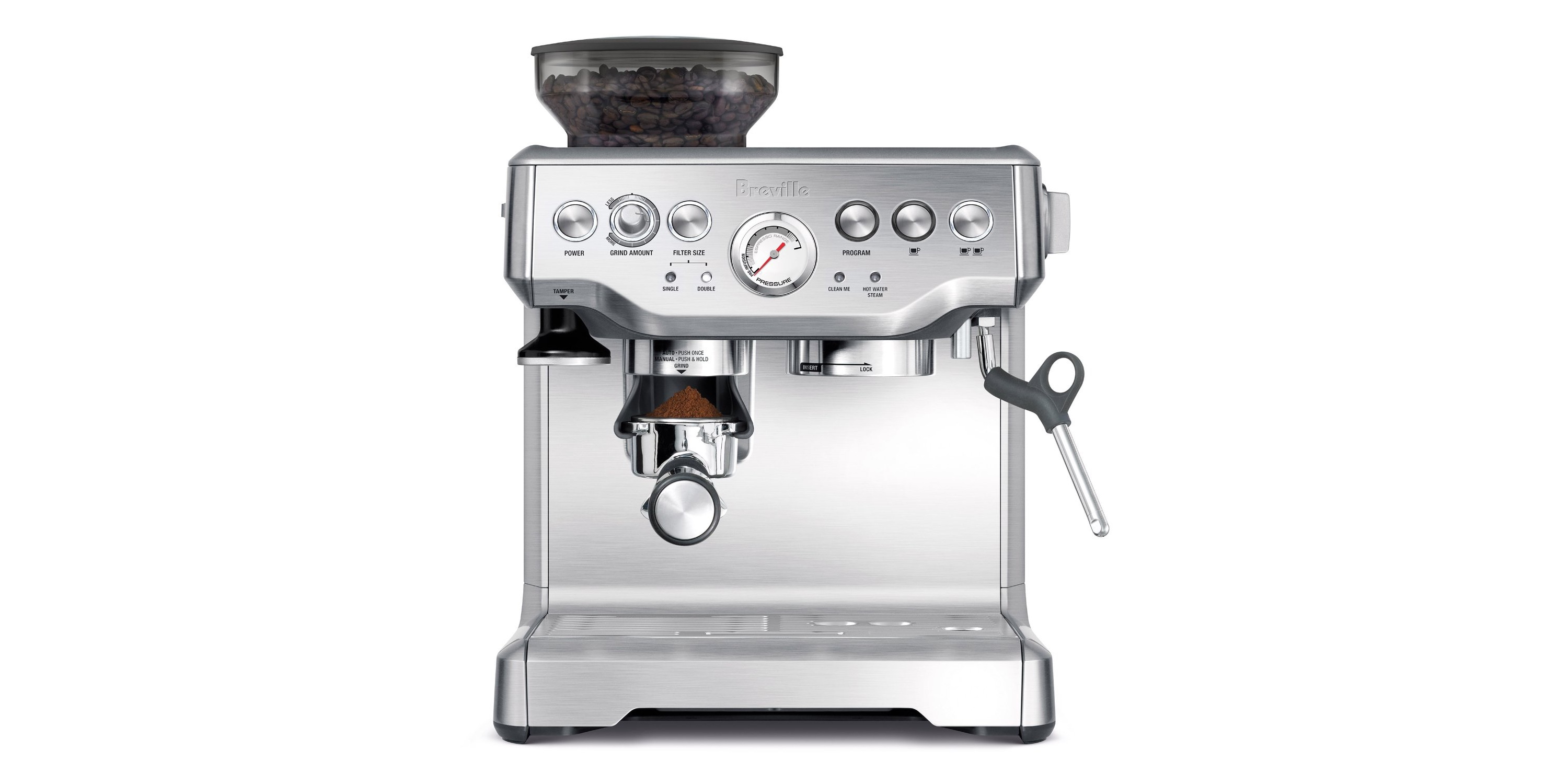 Amazon's best-selling Breville Barista Express Espresso Machine is at its lowest price ever: $480 shipped