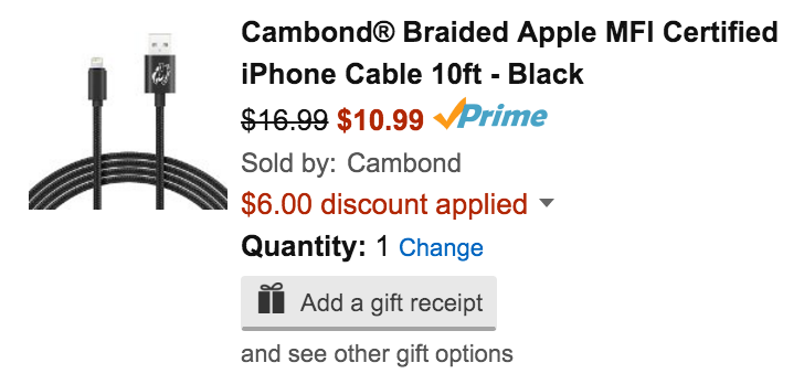 cambond-mfi-lightning-cable-deal