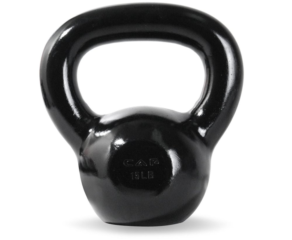 CAP Enamel Coated Cast Iron Kettlebells