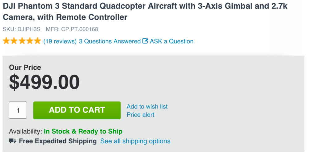 dji-phantom-3-standard-adorama-deal