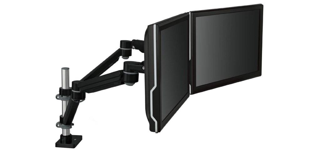 Easy Adjust Desk Mount Dual Monitor Arm