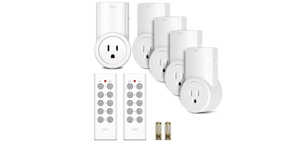 Etekcity Wireless Remote Control Electrical Outlet Switch for Household Appliances