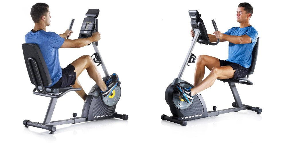 Gold's Gym Cycle Trainer 400R Exercise Bike-1