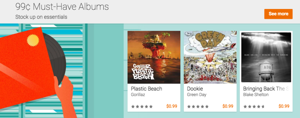 Google Must-Have Albums