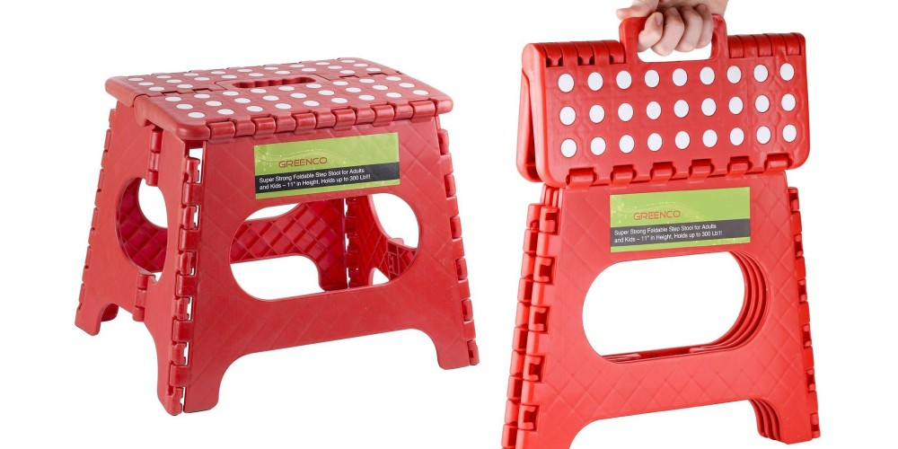 Greenco Super Strong Foldable Step Stool-3