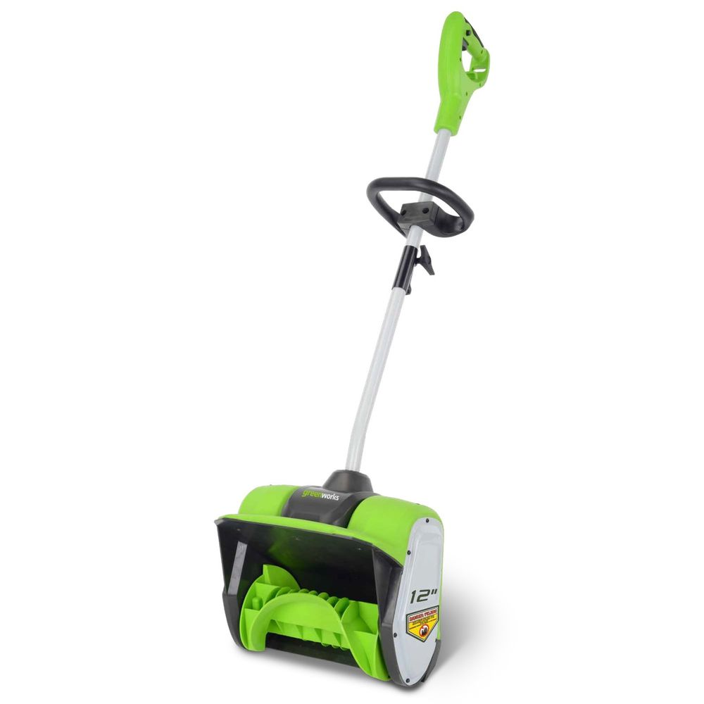 GreenWorks 8-Amp 12%22 Corded Snow Shovel