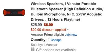 I-Venstar Portable Bluetooth Speaker