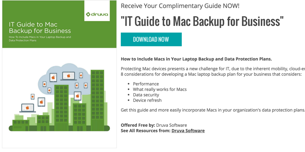 IT Guide to Mac Backup for Business