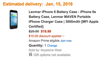 Lenmarr battery case code