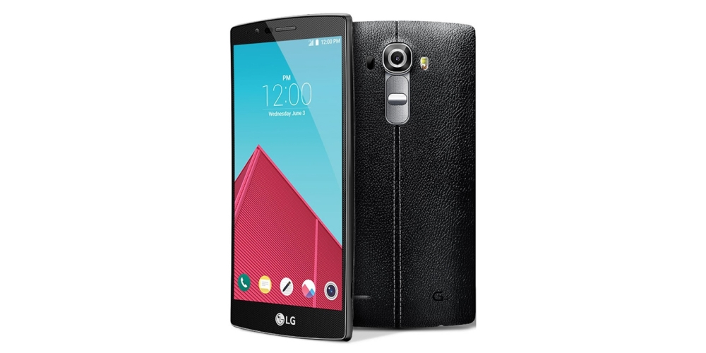 LG G4 32GB Smartphone (Unlocked, Black Leather)