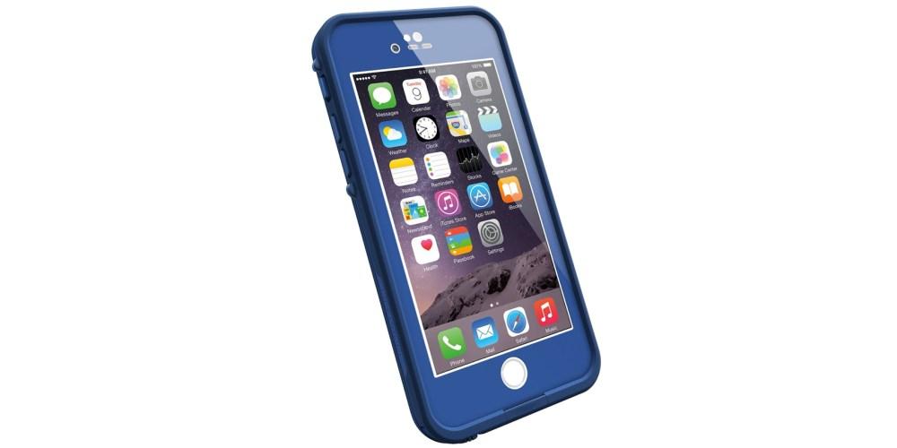 LifeProof FRE iPhone 6 ONLY Waterproof Case (4.7%22 Version) - Retail Packaging - SOARING BLUE (LIGHT COBALT:DARK COBALT)