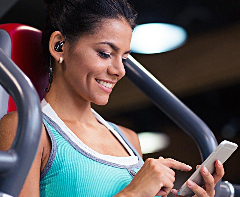 Mpow Seals Airflow Sports Bluetooth 4.0 Back Head Headphones