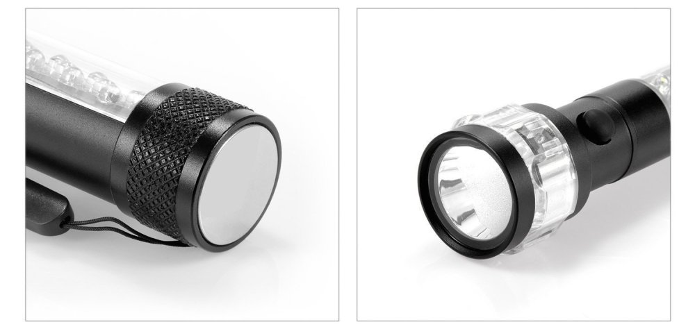 OxyLED MD30 3-in-1 Multi-Function LED Flashlight:Torch