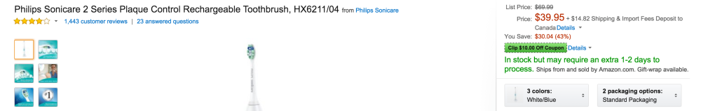 Philips Sonicare-electric toothbrush-sale-01