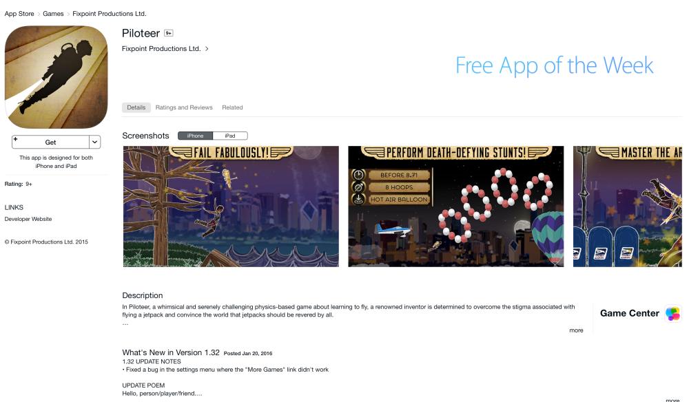 Piloteer-Free App of the Week-06