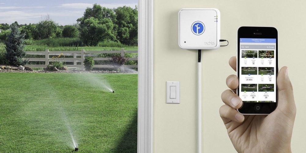 Rachio IRO Smart Wifi Enabled Irrigation Controller (16 zones, 16ZULW)-01