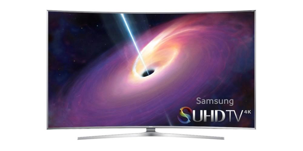 Samsung (UN55JS9000) 3D Smart 4K Ultra HDTV and Soundbar