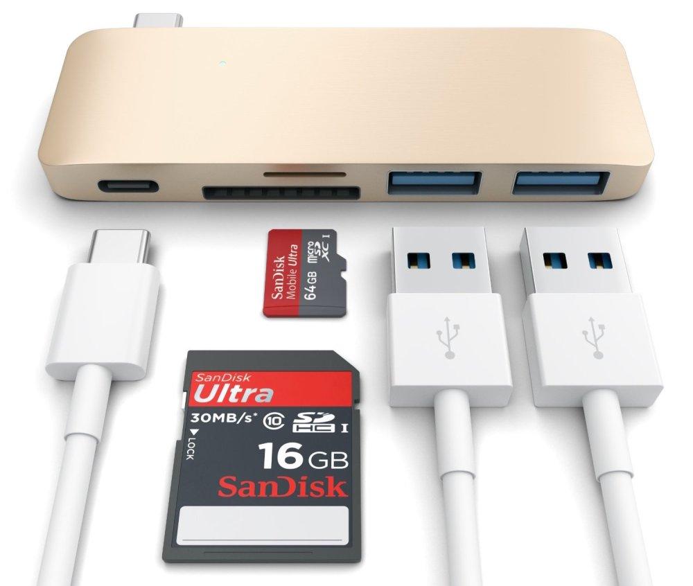 Satechi Type-C Pass Through USB Hub