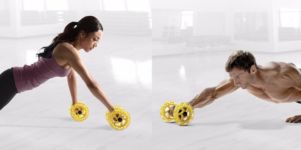 SKLZ Core Wheels Dynamic Strength & Ab Trainer-2
