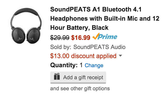 soundpeats-a1-amazon-deal