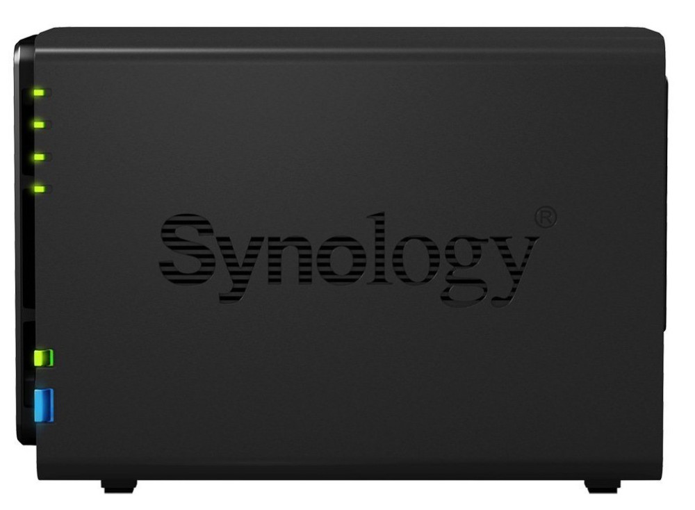 Synology Disk Station 2-Bay Diskless Network Attached Storage