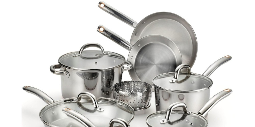 T-fal (C836SD) 13-Piece Ultimate Stainless Steel Cookware Set-3