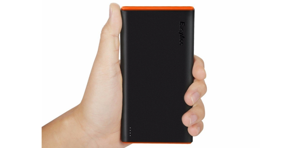 [Upgrade] EasyAcc 2nd Gen 10000mAh Power Bank Brilliant External Battery Pack (2.4A Smart Output) Classic Portable Charger
