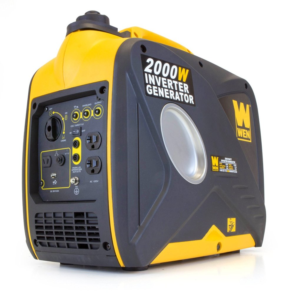 WEN 2000-Watt Gas-Powered Portable Inverter Generator