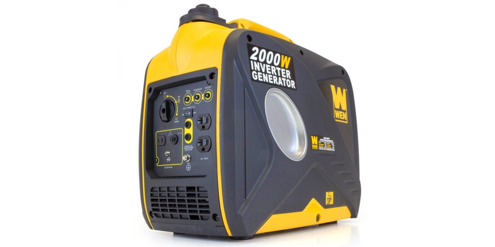 WEN 56200i, 1600 Running Watts:2000 Starting Watts, 4-Stroke Gas Powered Portable Inverter Generator