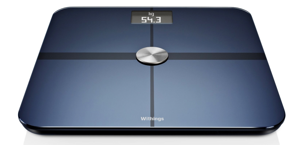 Withings Wi-Fi Body Smart Scale in black color