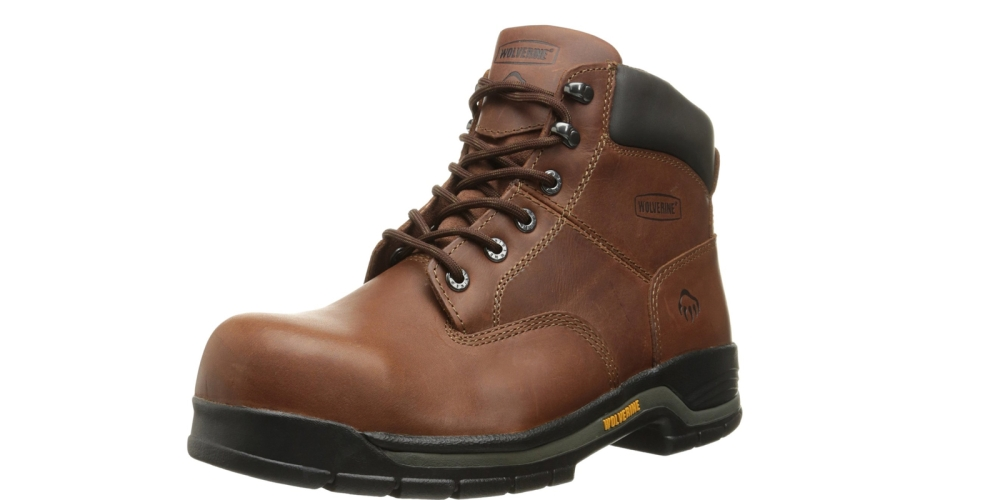 Wolverine Men's Harrison Lace-Up Steel-Toe EH 6%22 Work Boot