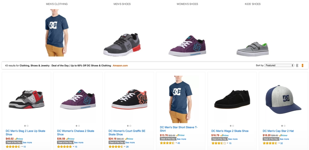60% Off DC Shoes & Clothing