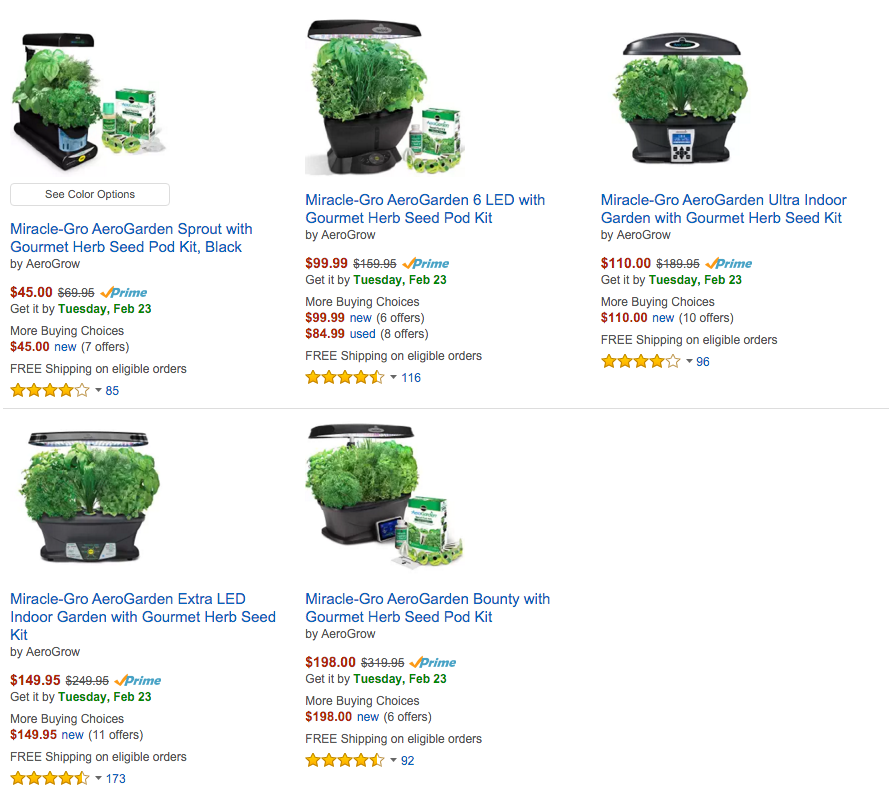 Grow fresh herbs & veggies year round w/ Miracle-Gro