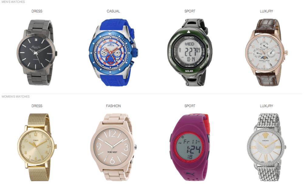 Amazon Watches promo code
