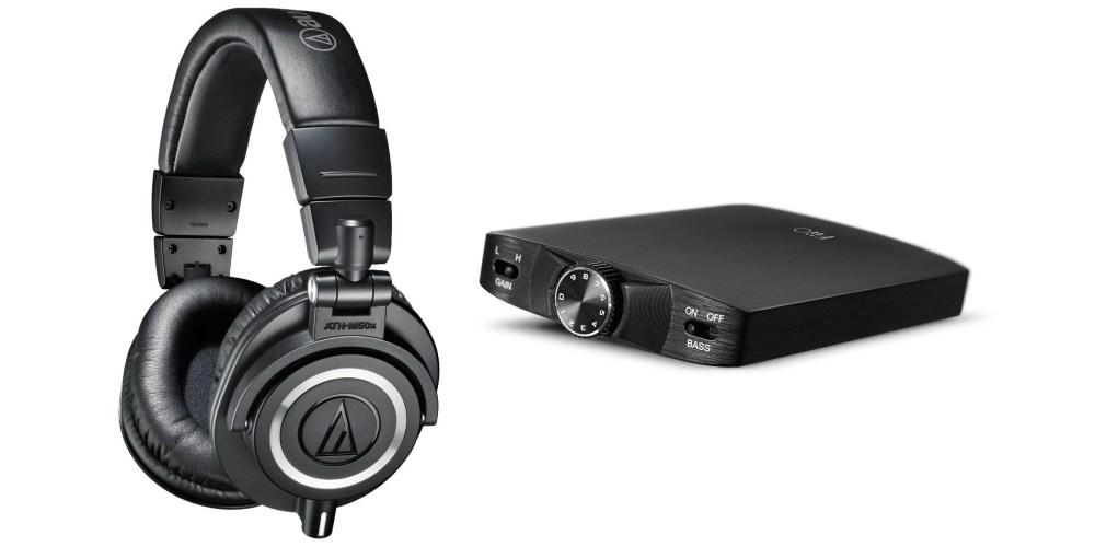 Audio-Technica ATH-M50x Professional Studio Monitor Headphones-1