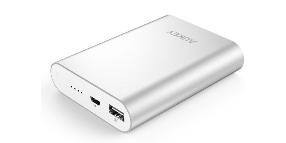 Aukey Quick Charge 2.0 10400mAh Portable External Battery Power Bank