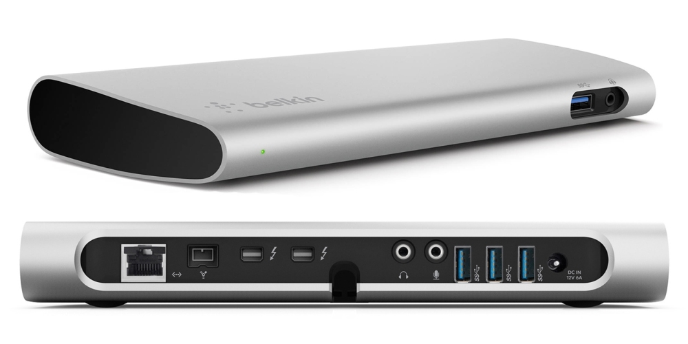 Daily Deals Belkin Thunderbolt 2 Express Hd Dock W Cable