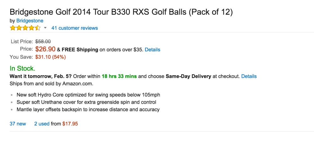 Bridgestone Tour B330-S golf balls-sale-02