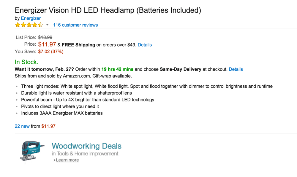 Energizer Vision HD LED Headlamp-sale-02