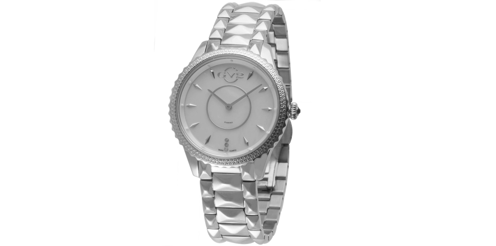 GV2 by Gevril Women's 1700 'Carrara' Swiss Quartz Stainless Steel Casual Watch