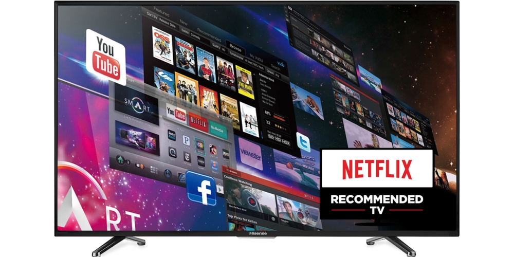 Hisense (55H6B) 55-inch 1080p 120Hz LED Smart HDTV