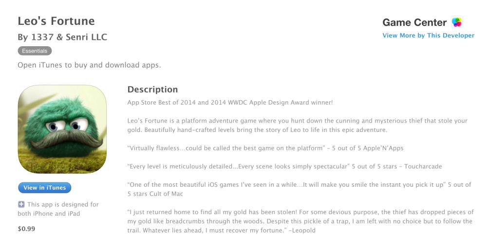 Leos Fortune-sale-iOS-01